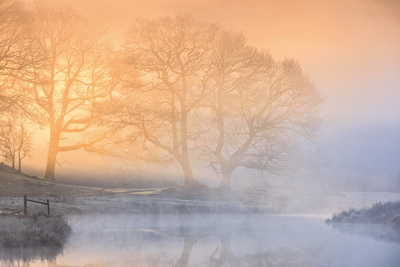 River Brathay near Skelwith, Lake District, Cumbria, England.